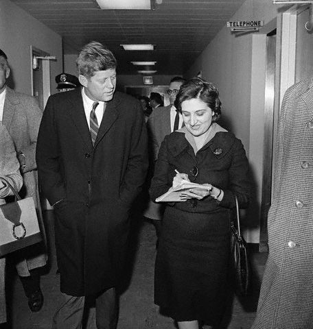 JFK refused to go to the White House Correspondent Dinner because women were banned from the event. This ended quickly when the club heard the president wasn't going to their shindig.